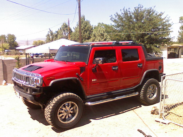HUMMER H2 SUT red #2
