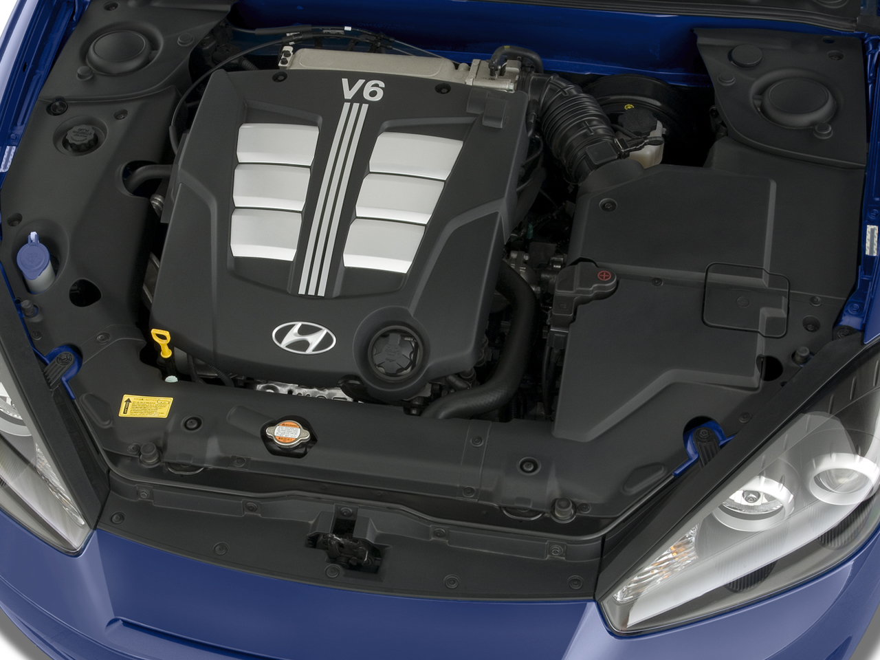 Hyundai Tiburon engine #2