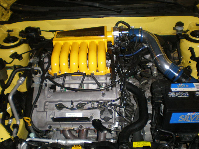 Hyundai Tiburon engine #1