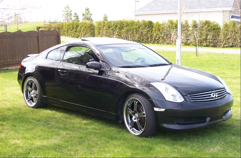 Infiniti G Coupe black #1