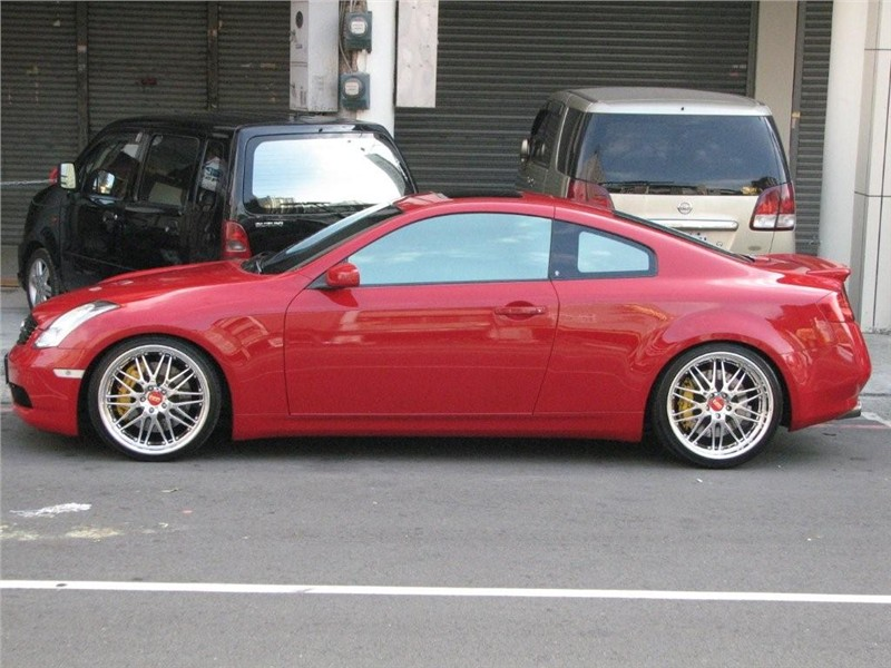 Infiniti G Coupe red #1