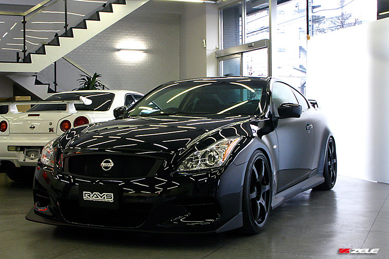 Infiniti G37 Coupe black #2