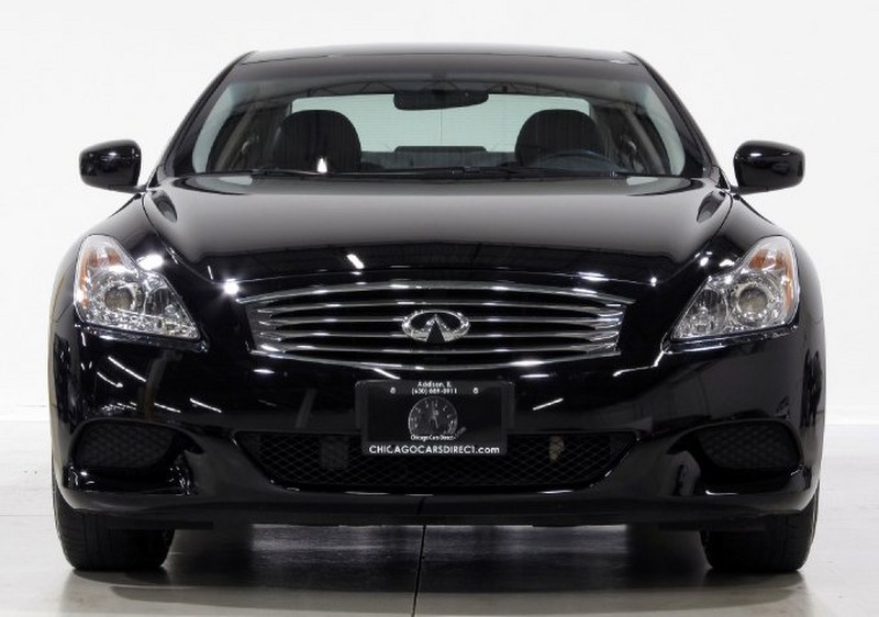 Infiniti G37 Coupe black #3