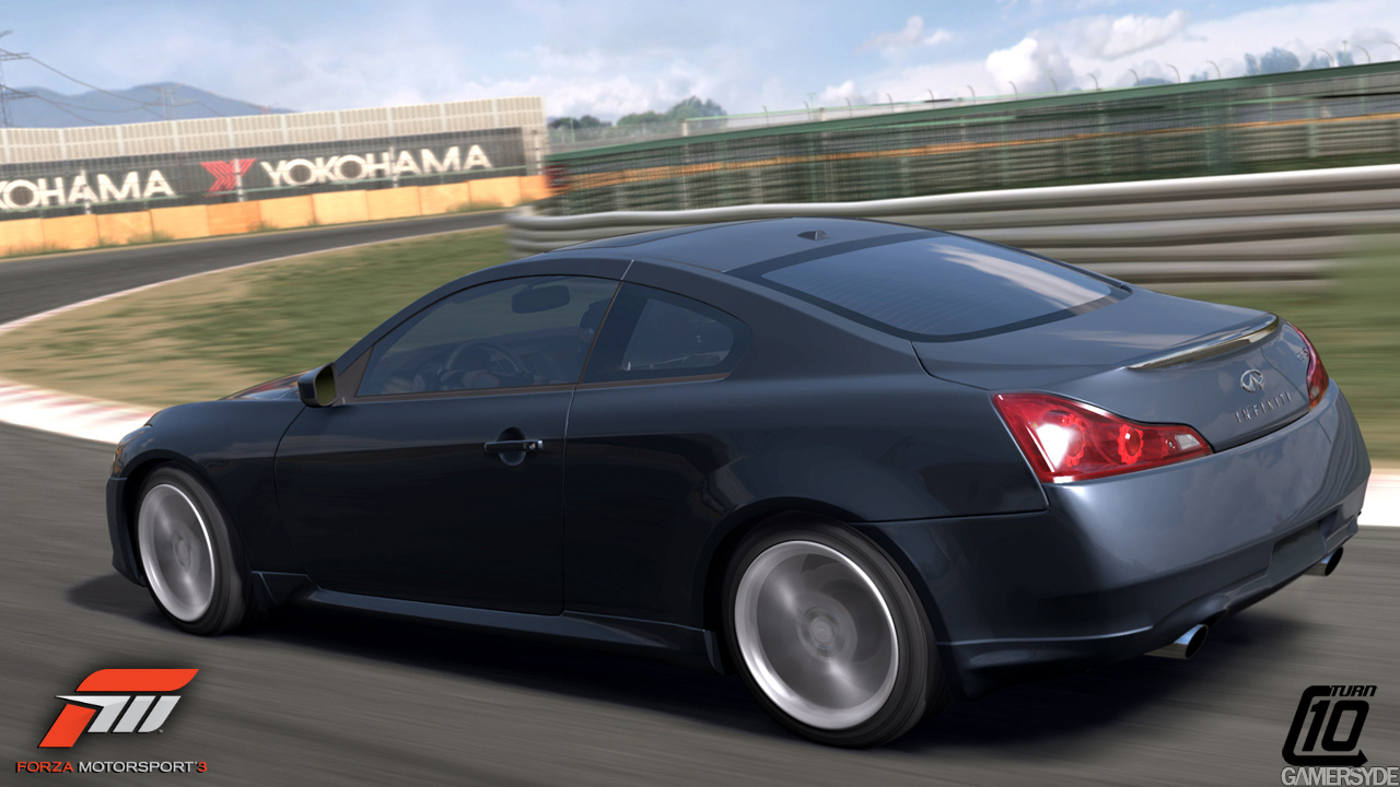 Infiniti G37 Coupe black #4