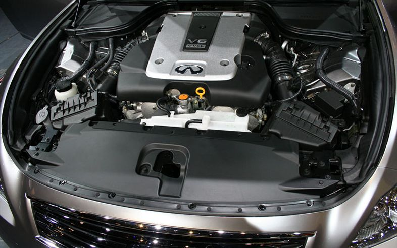 Infiniti G37 Coupe engine #3