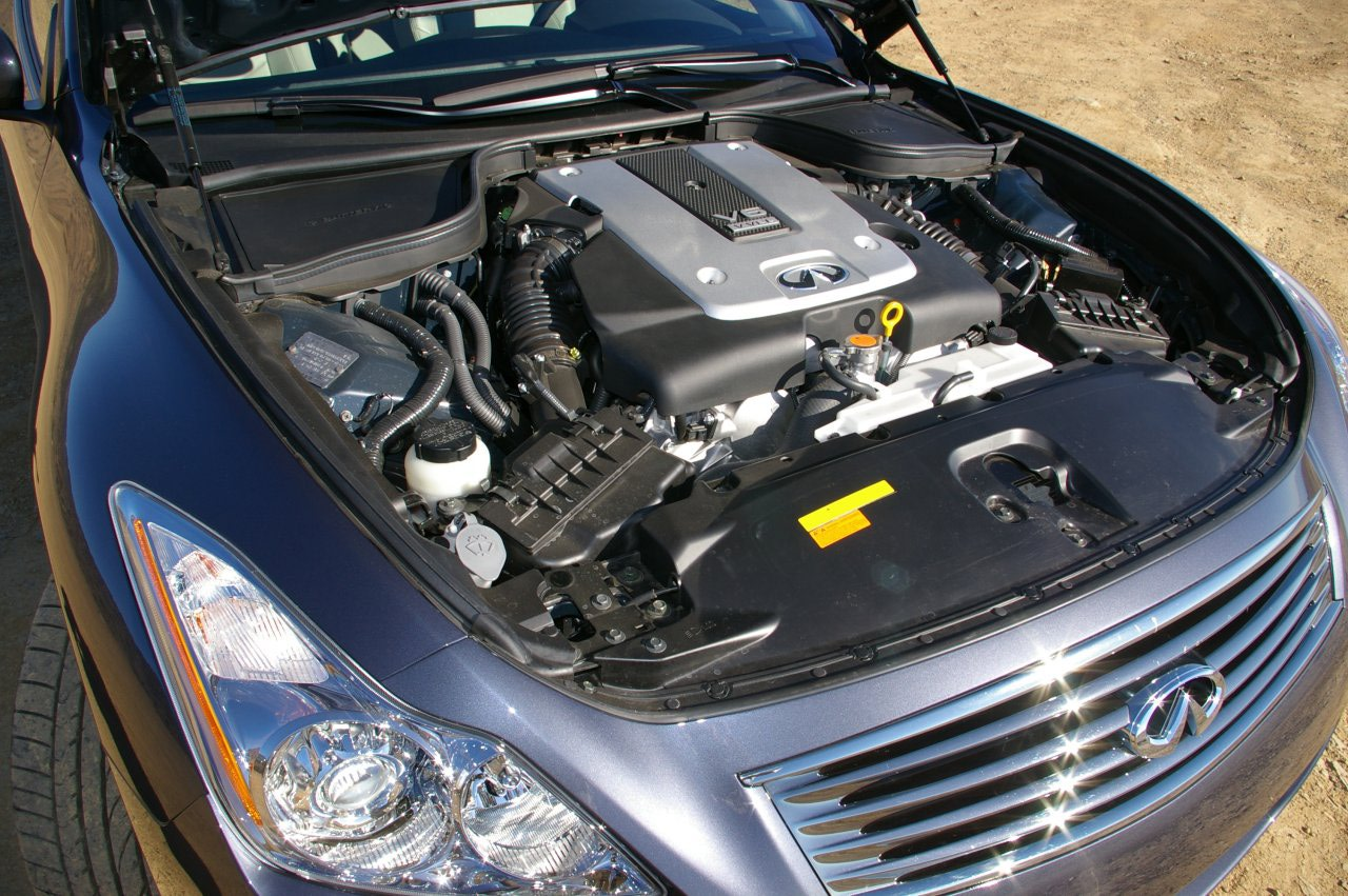 Infiniti G37 Coupe engine #1