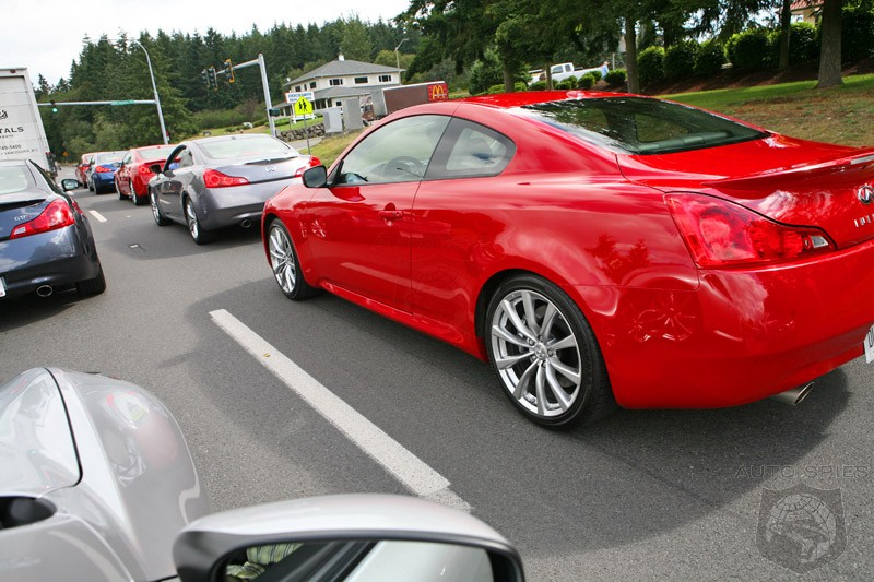 Infiniti G37 Coupe red #2