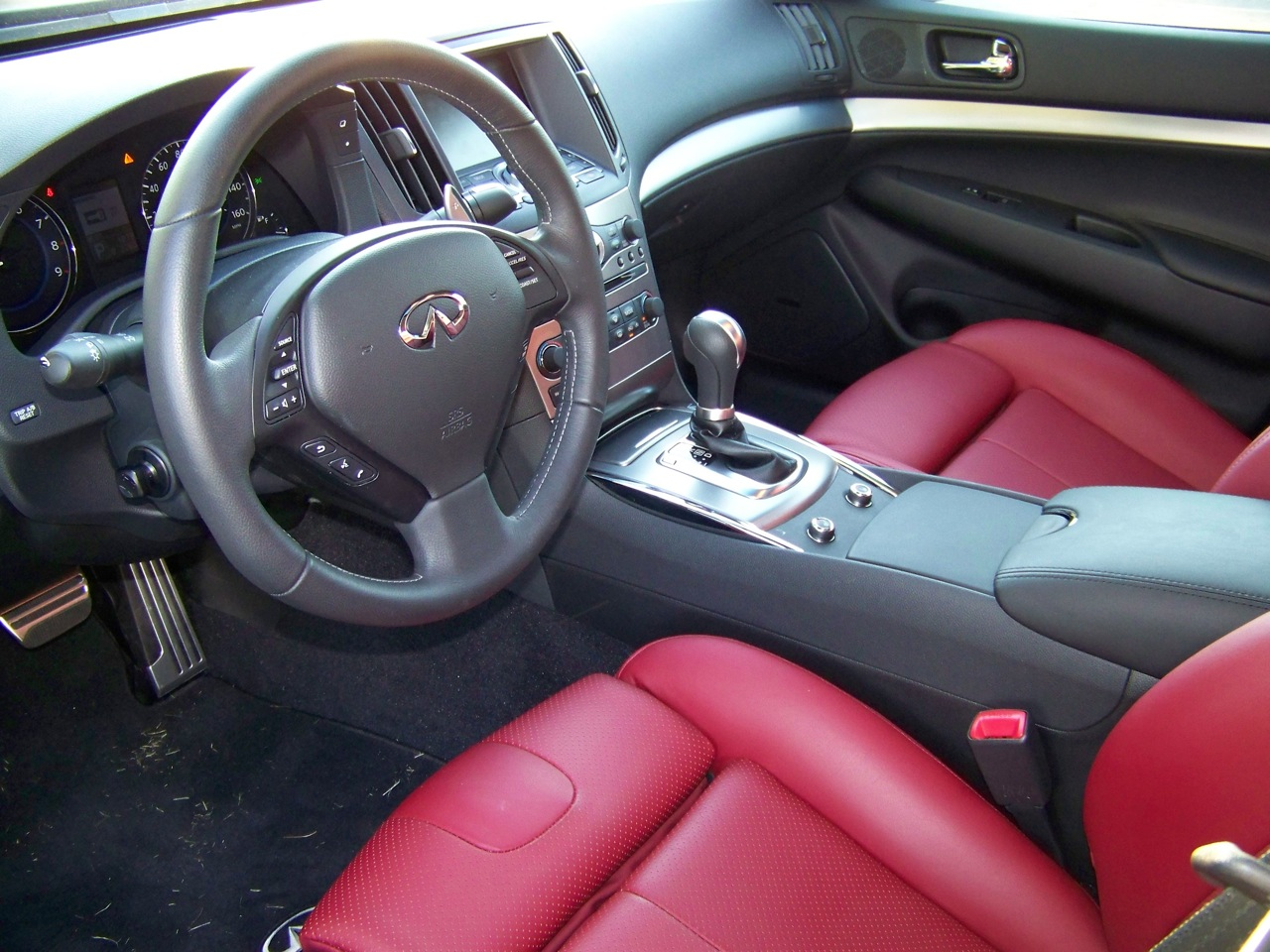 Infiniti G37 Coupe red #3