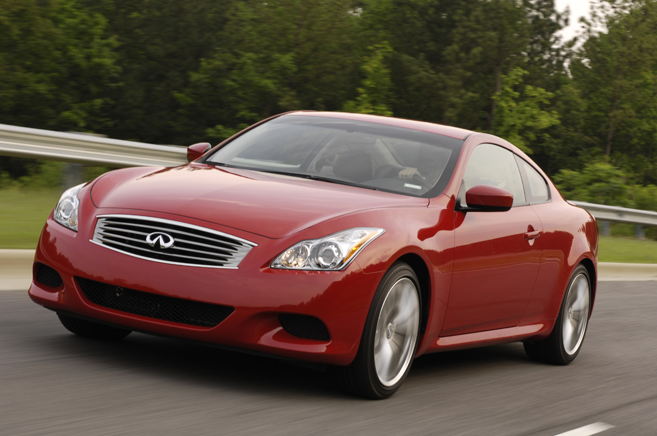 Infiniti G37 Coupe red #1
