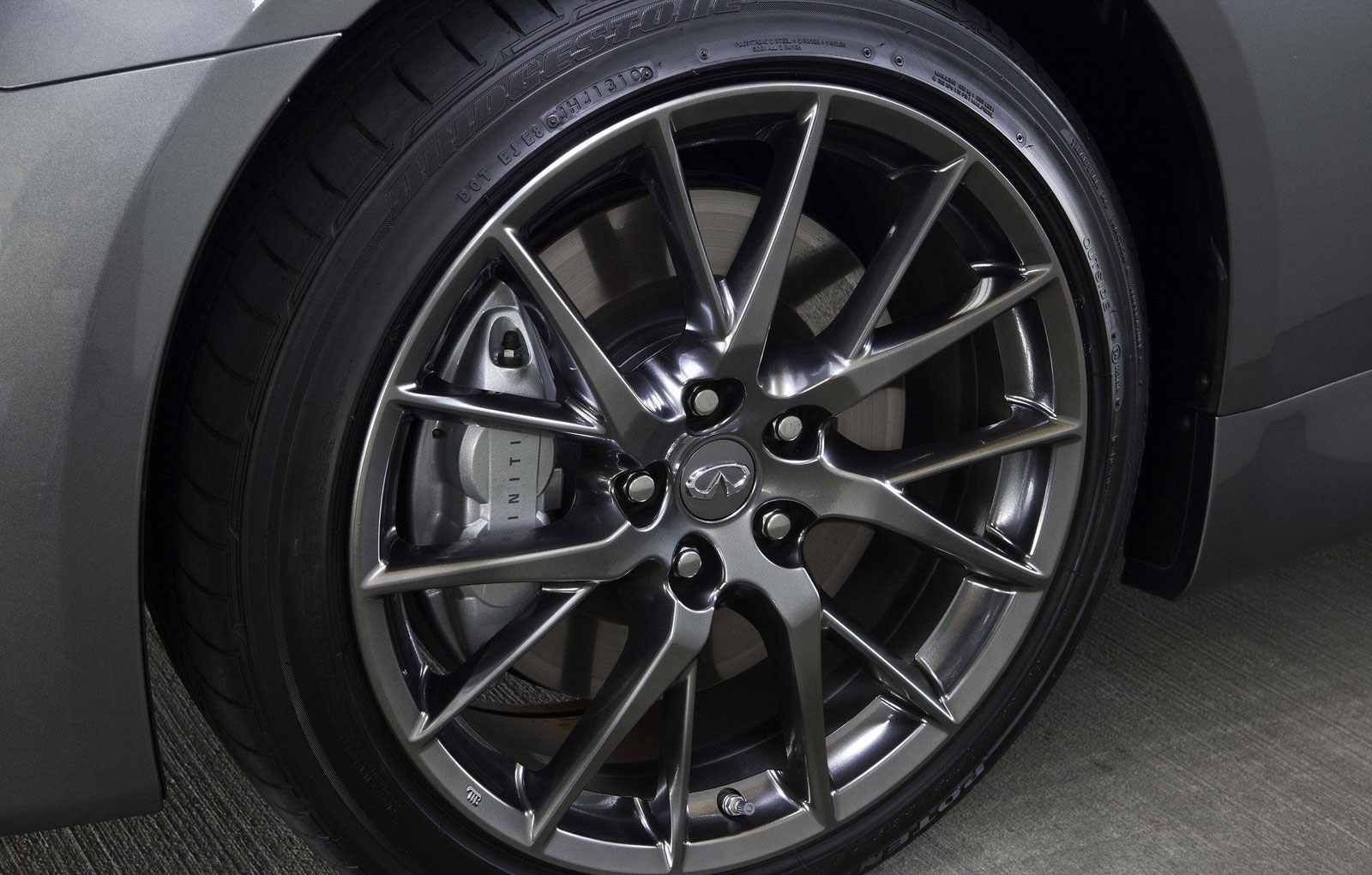 Infiniti G37 Coupe wheels #2