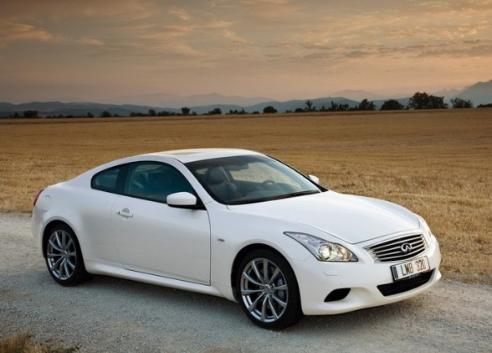 Infiniti G37 Coupe white #3