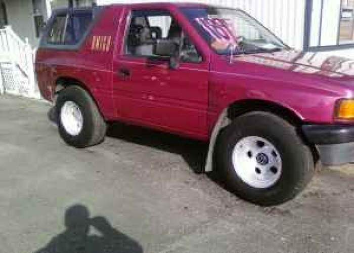 Isuzu Amigo wheels #3