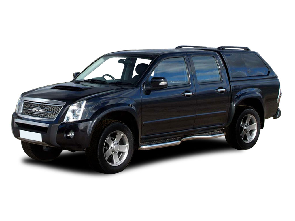 Isuzu Rodeo Sport black #2