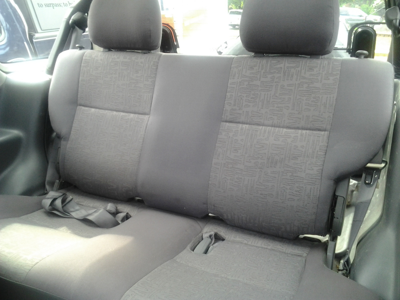 Isuzu Rodeo Sport interior #2