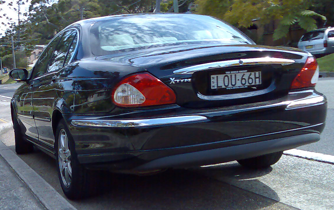 Jaguar X-Type black #2