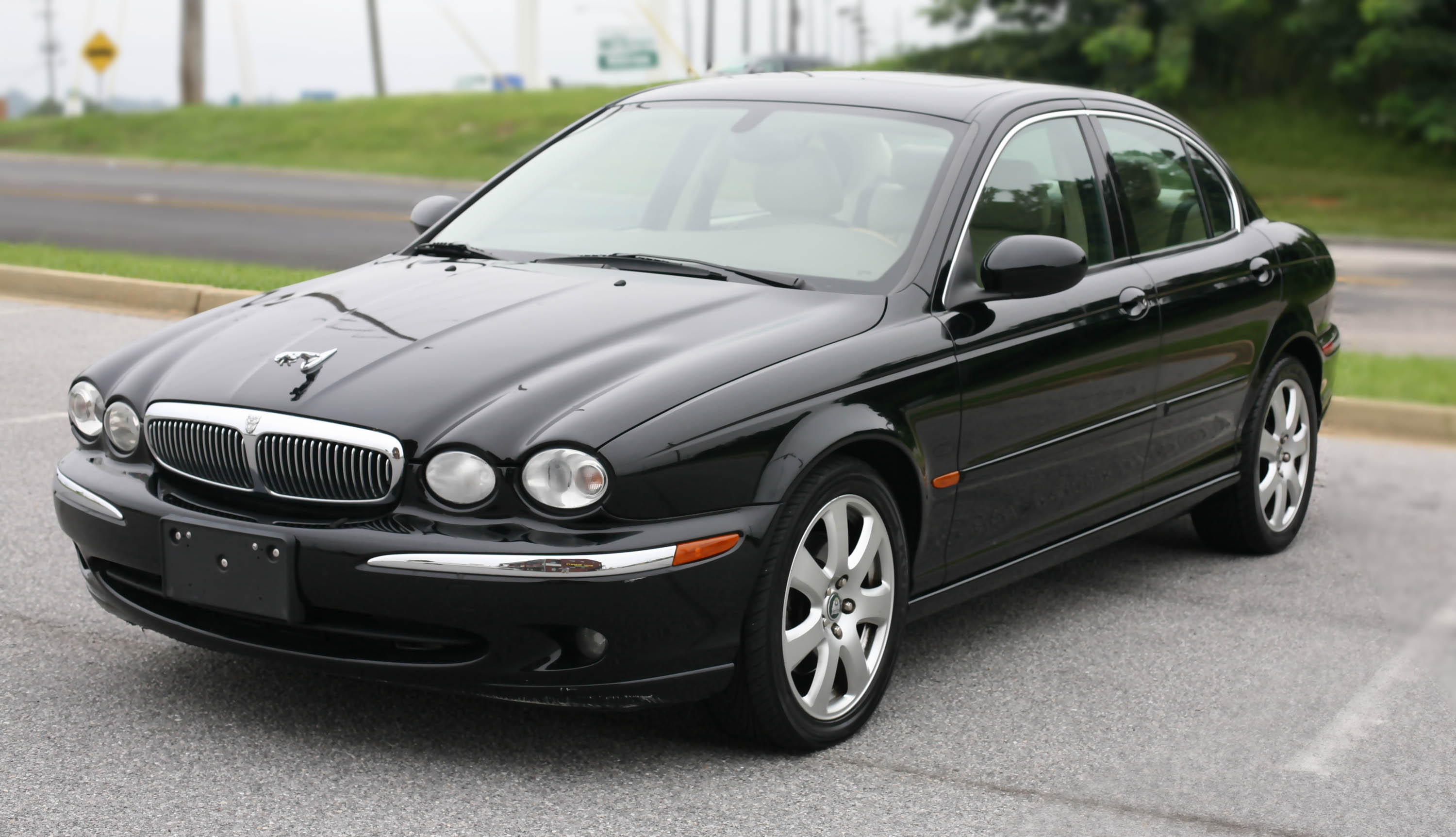 Jaguar X-Type black #3