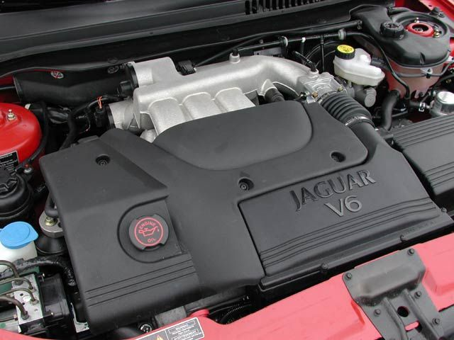 Jaguar X-Type engine #4