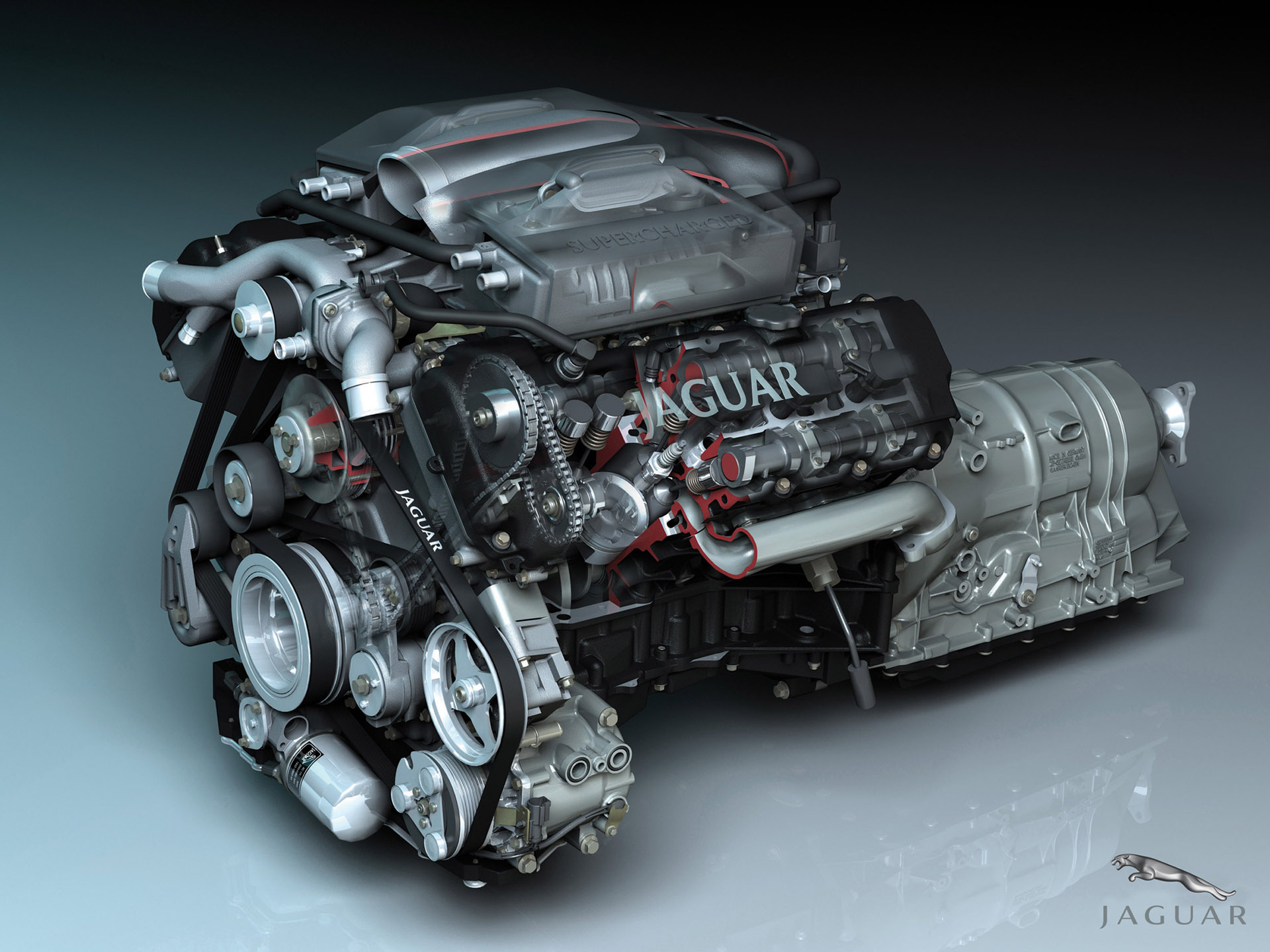Jaguar X-Type engine #1
