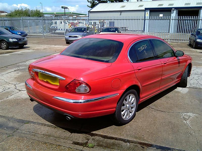 Jaguar X-Type red #3