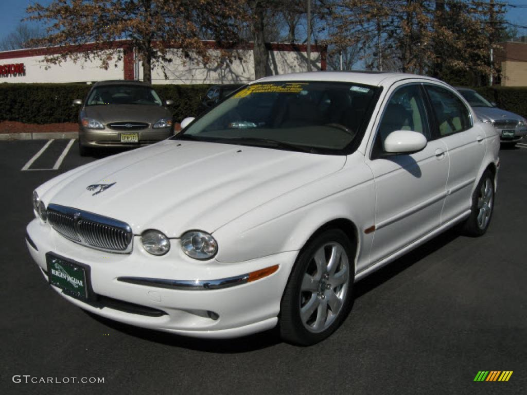 Jaguar X-Type white #2