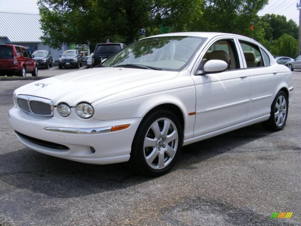 Jaguar X-Type white #3