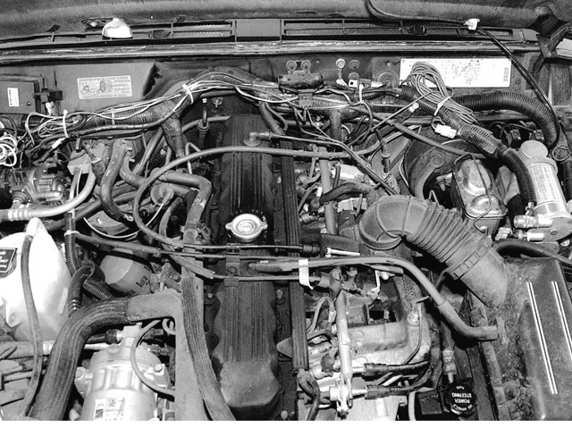 Jeep Cherokee engine #1