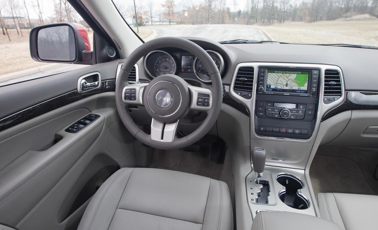 Jeep Cherokee interior #3