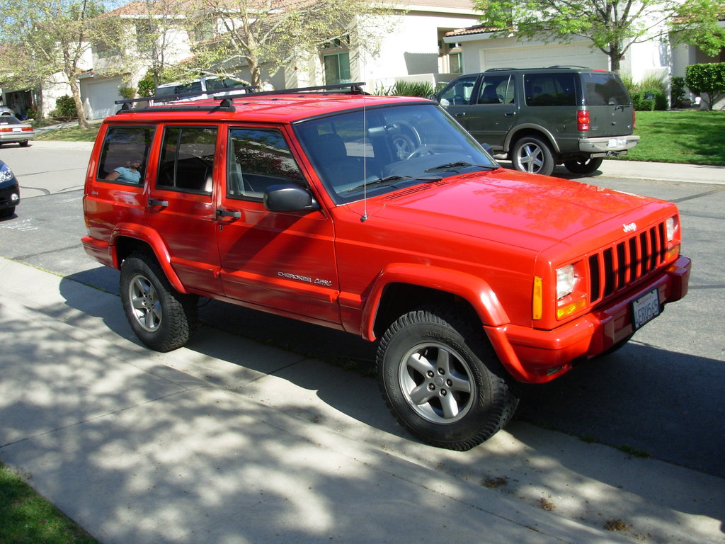 Jeep Cherokee red #2