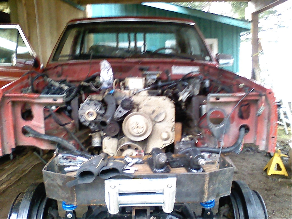 Jeep Comanche engine #3