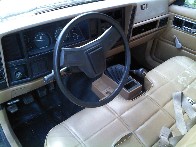 Jeep Comanche interior #2