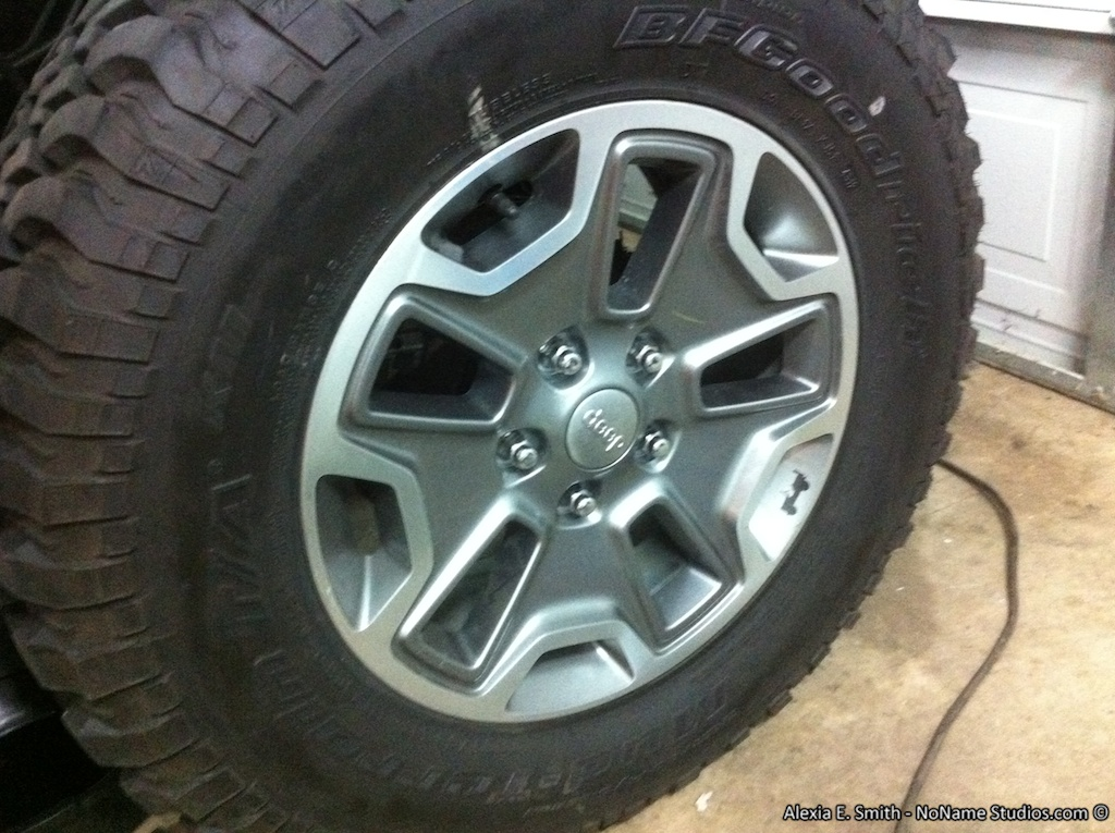 Jeep Comanche wheels #2