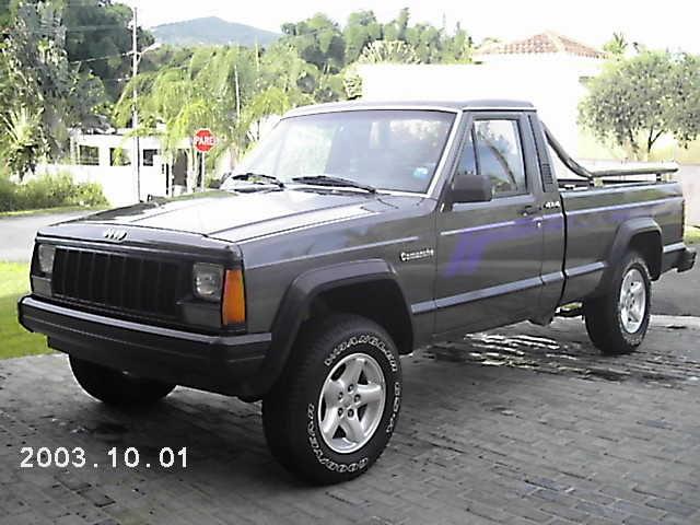 Jeep Comanche white #1