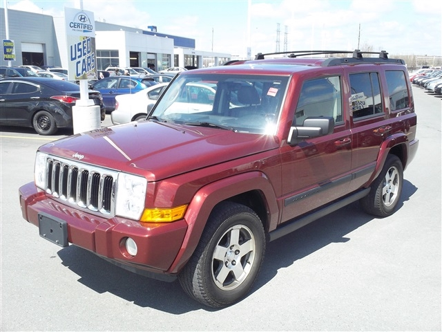 Jeep Commander red #3