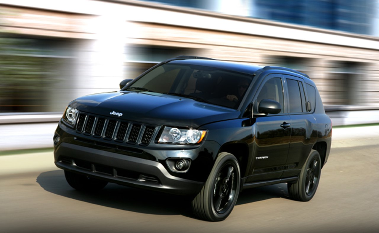 Jeep Compass black #2
