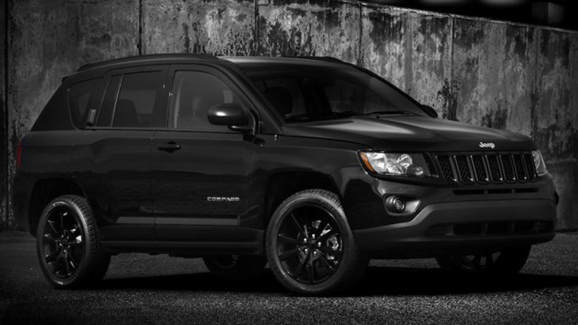 Jeep Compass black #3