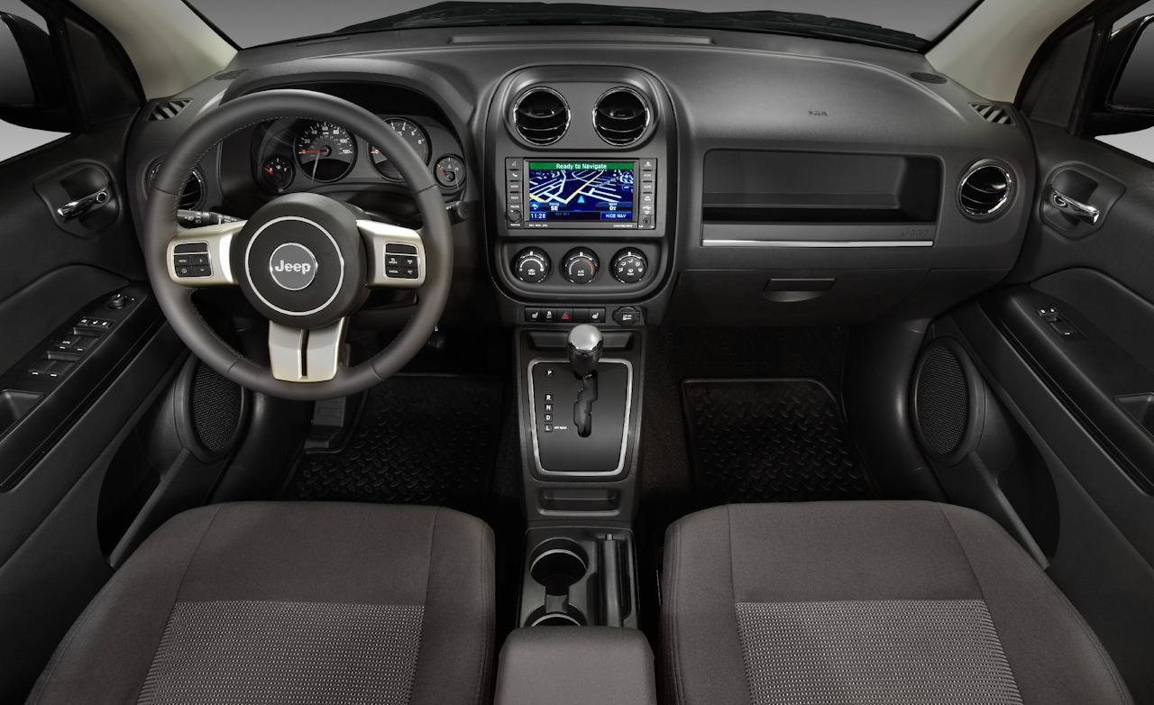 Jeep Compass interior #1