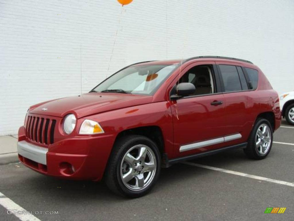 Jeep Compass red #2