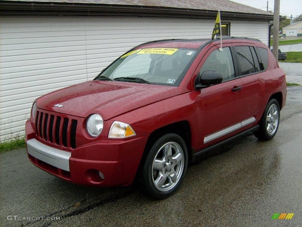 Jeep Compass red #3