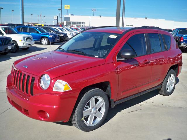 Jeep Compass red #1