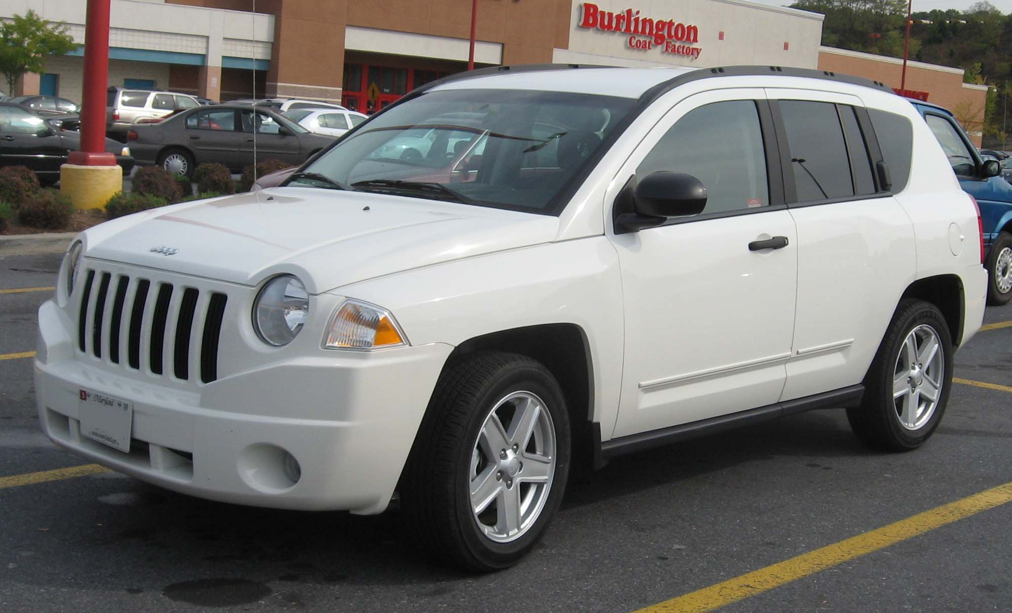Jeep Compass white #2