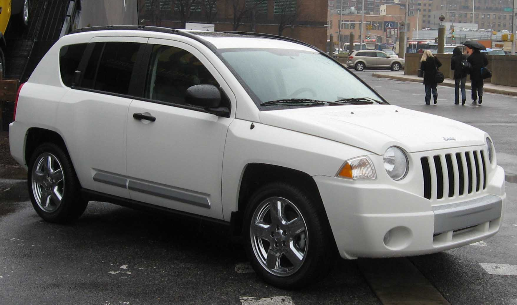 Jeep Compass white #1