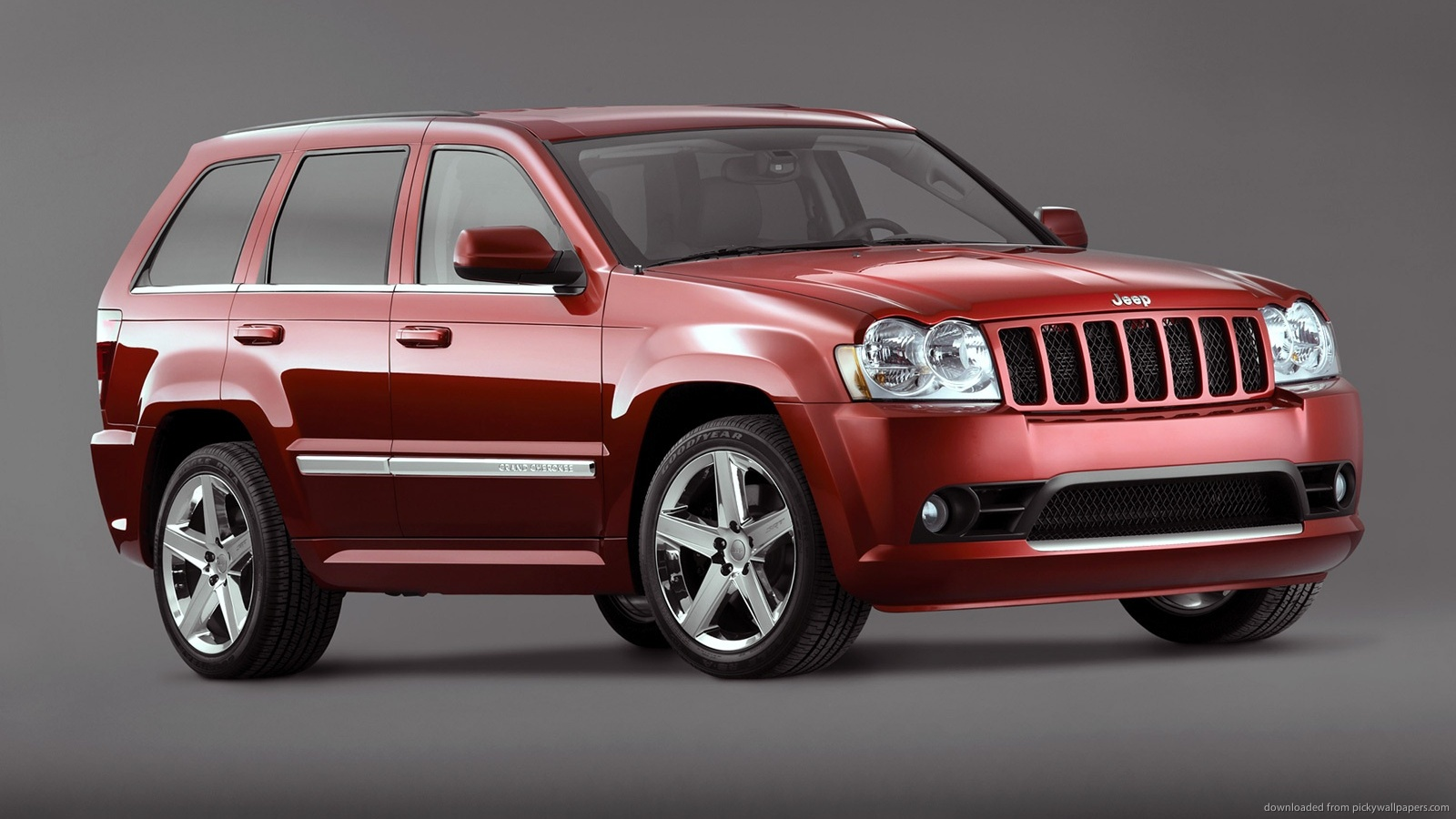 Jeep Grand Cherokee red #9
