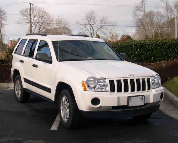 Jeep Grand Cherokee white #1