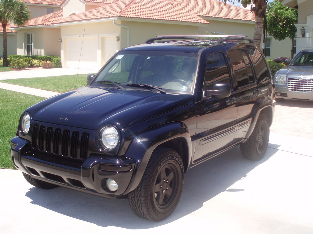 Jeep Liberty black #3