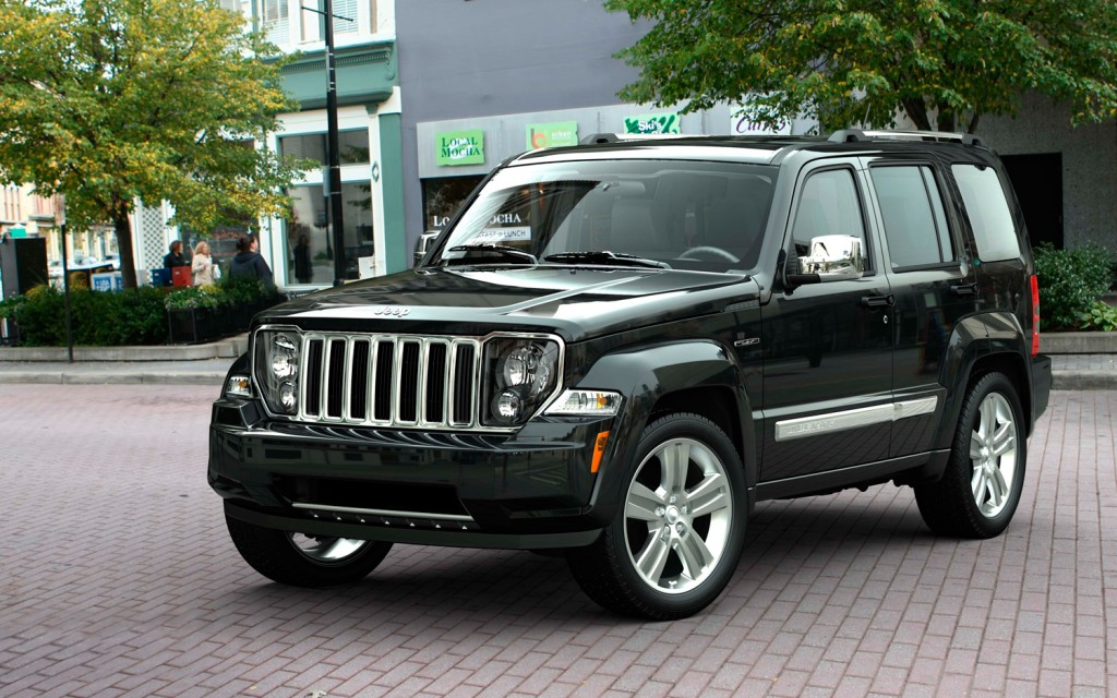 Jeep Liberty black #1