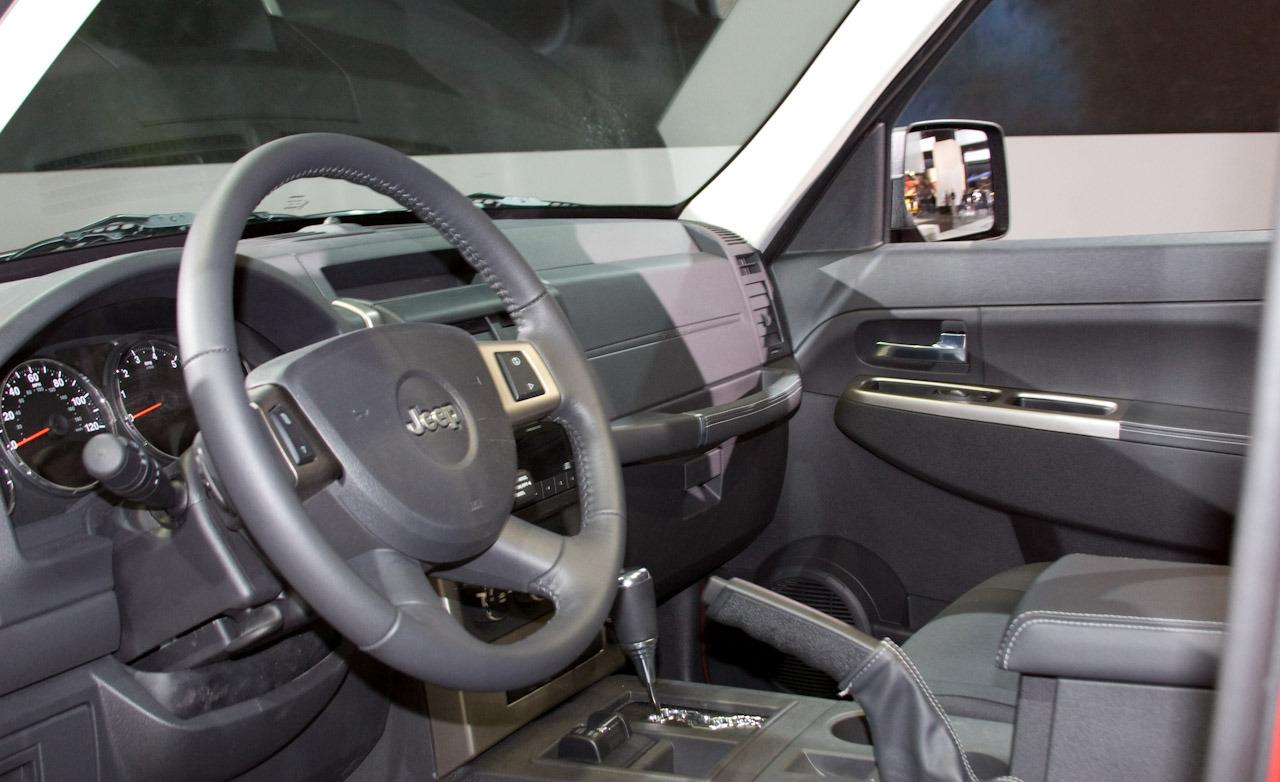 Jeep Liberty interior #2
