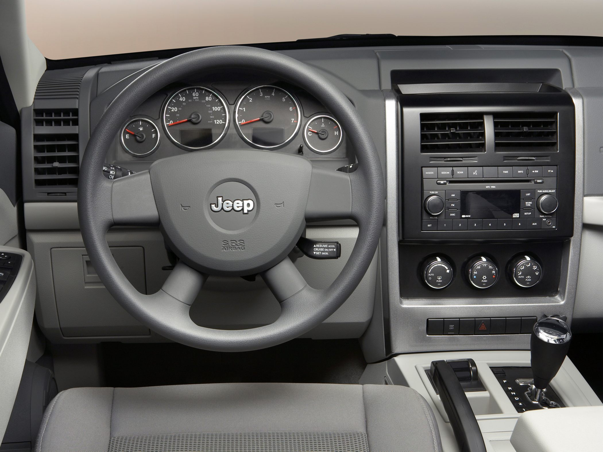 Jeep Liberty interior #4