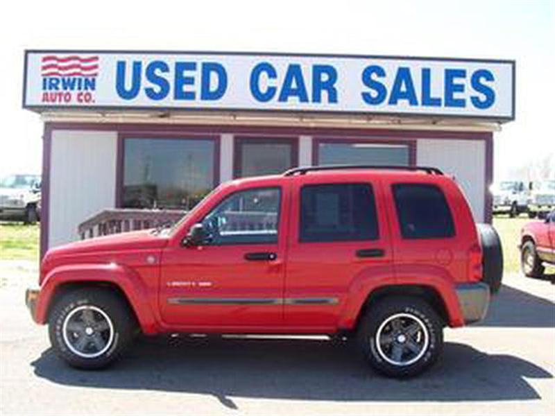 Jeep Liberty red #3