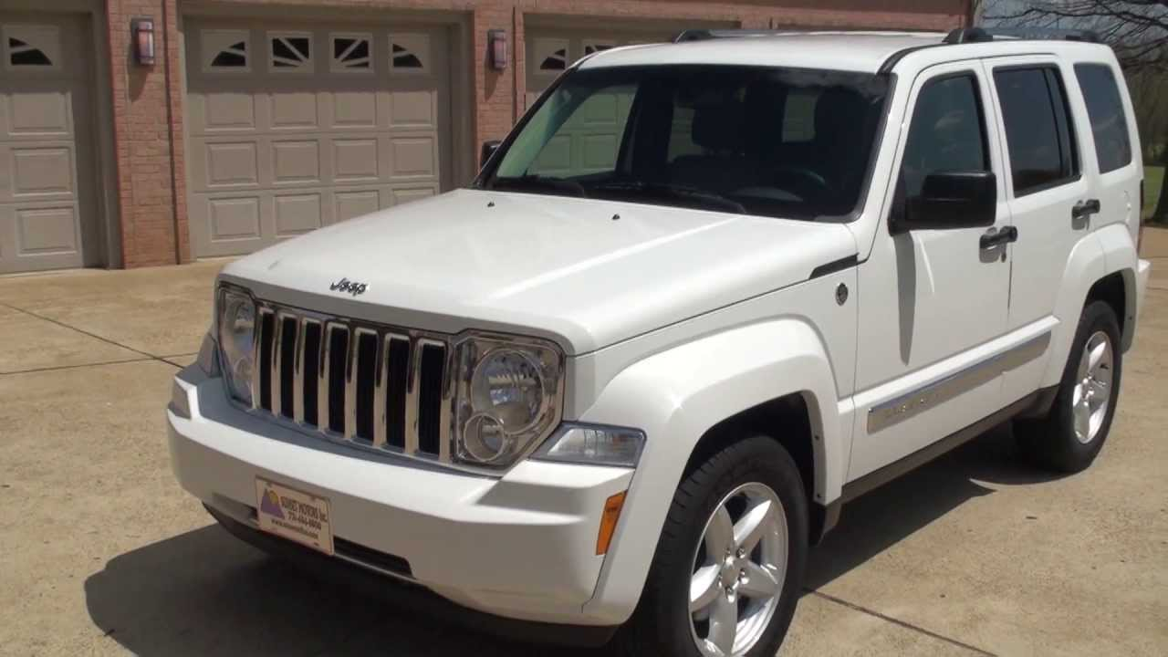 Jeep Liberty white #3