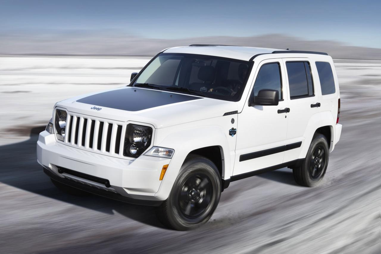 Jeep Liberty white #4